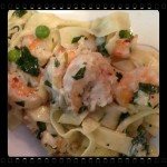 Linguini with Clams and Shrimp