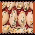 Stuffed Shells in Red Sauce